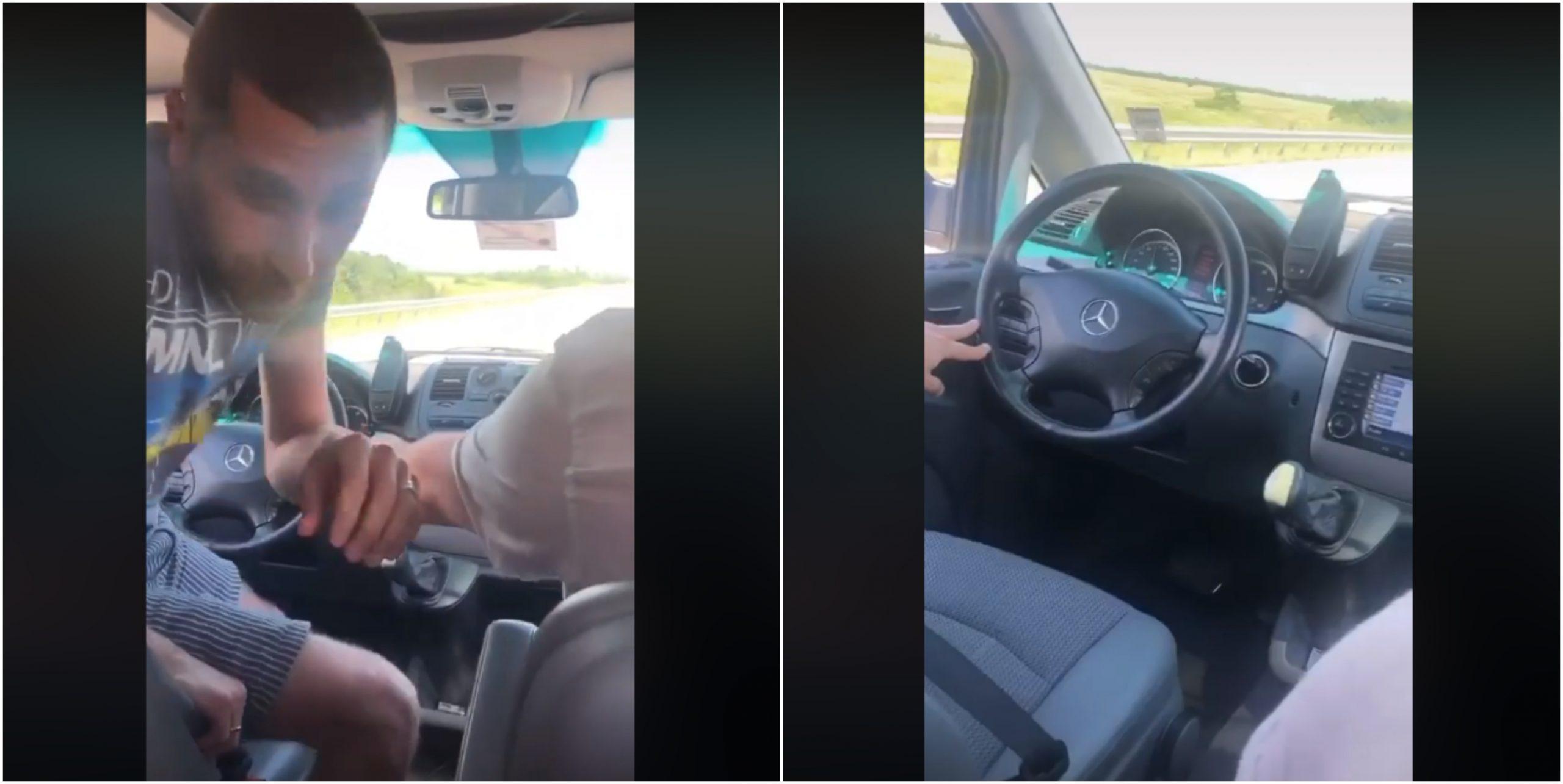 მძღოლმა 110 კმ/სთ სიჩქარით მოძრავი ავტომობილი უმართავი დატოვა – ვიდეო სოციალურ ქსელში ვრცელდება