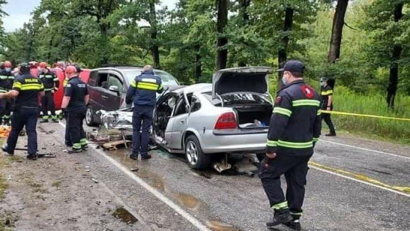 ავარია ქუთაისში – დაშავდა 8 ადამიანი, მათ შორის 2 არასრულწლოვანი